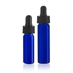 Blue Glass Vials